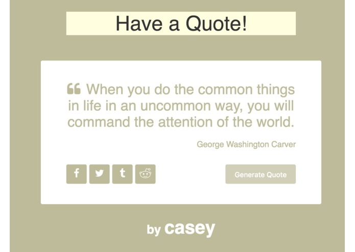 QuoteMachine – screenshot 3