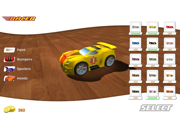 Whiz Racer – screenshot 1
