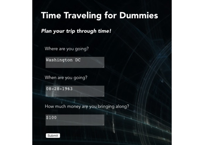 Time Traveling for Dummies – screenshot 1