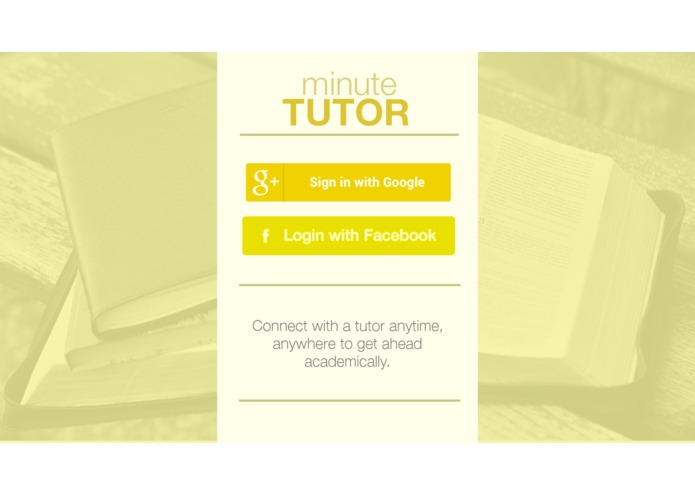 minuteTUTOR – screenshot 5
