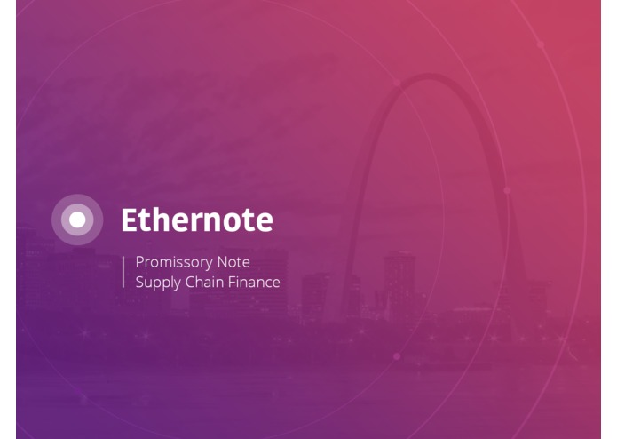 Ethernote - Promissory Note on Ethereum Smart Contract – screenshot 1