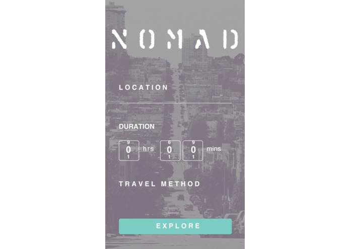 Nomad – screenshot 1