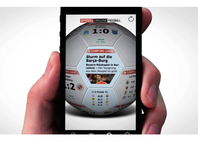 Spiegel Online Football App – screenshot 1