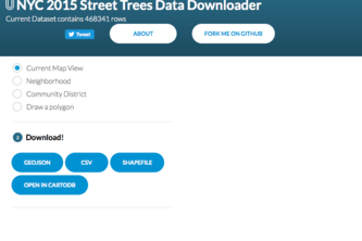 TreesCount Data Downloader