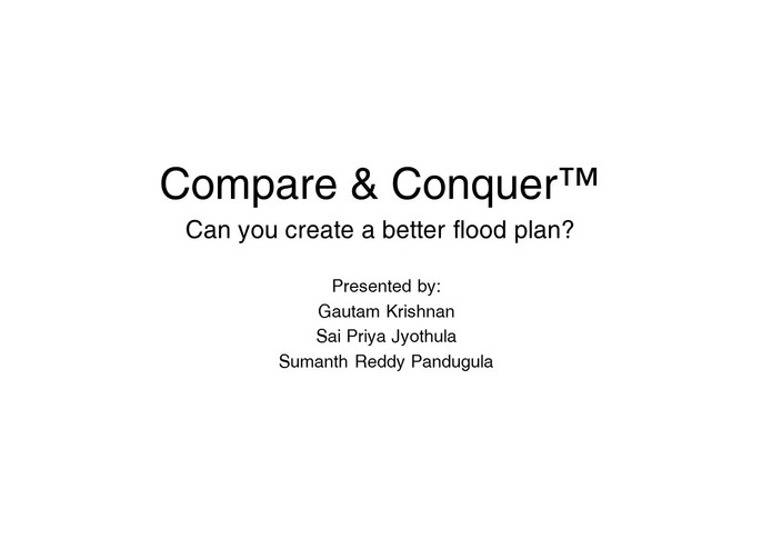 Compare & Conquer™ – screenshot 1