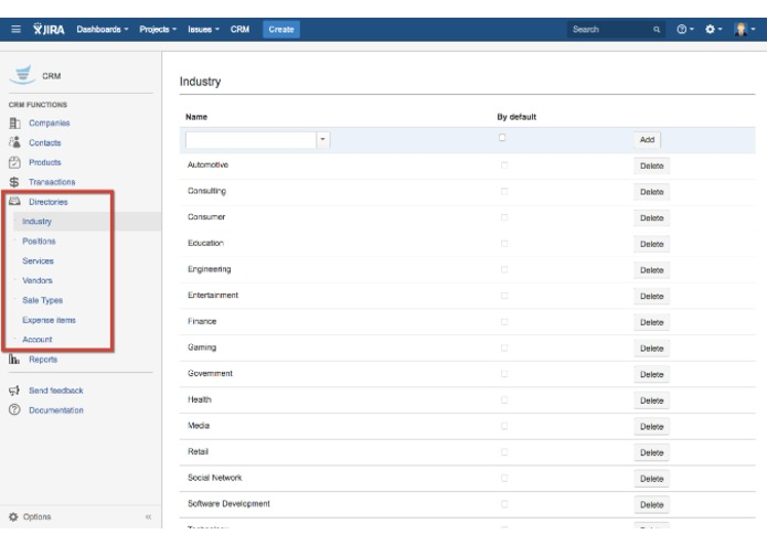 CRM for JIRA – screenshot 1