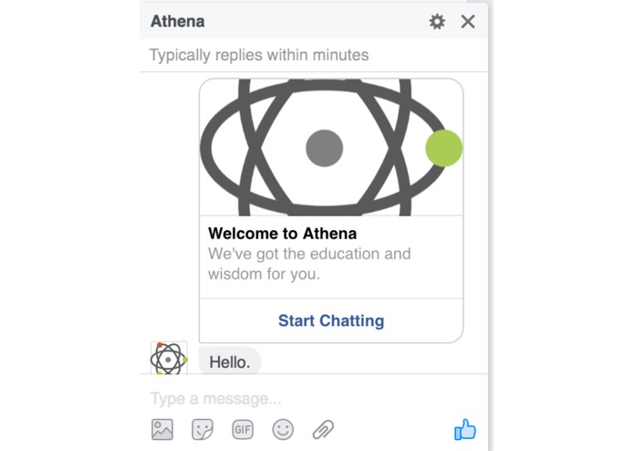 Athena – screenshot 1