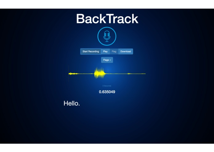 BackTrack – screenshot 2