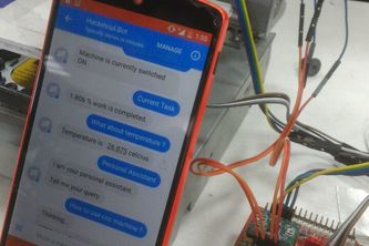IoT based Facebook Chatbot controlled CNC Machine
