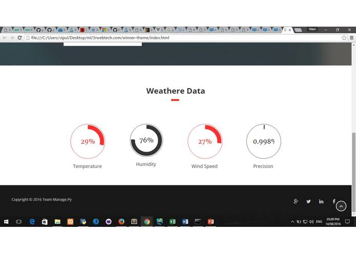 Intelligent Disaster Prediction and Prevention System – screenshot 4