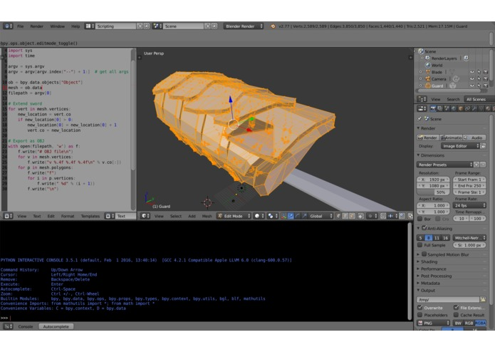 3DModelResizer – screenshot 2