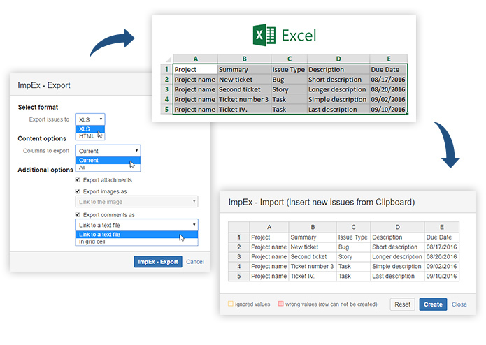 ImpEx - Import & Export from/to MS Excel – screenshot 4