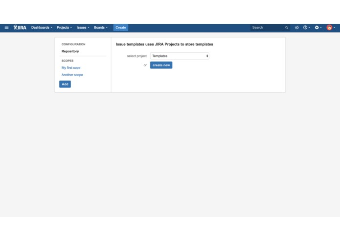 Issue Templates Cloud – screenshot 1