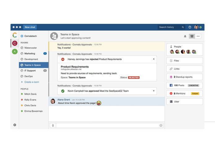 Comala Approvals for Confluence Cloud – screenshot 3