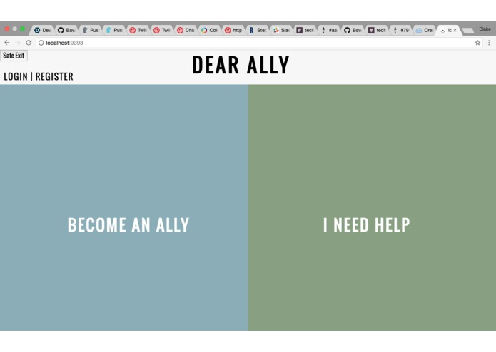 DEAR ALLY – screenshot 2