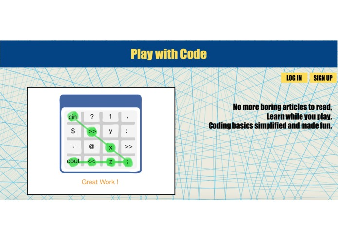 Play-with-Code – screenshot 1