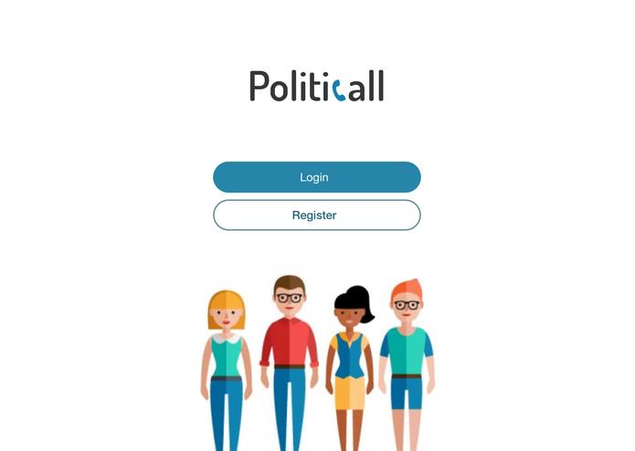 PolitiCall – screenshot 1