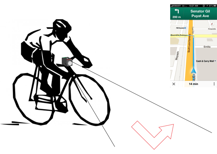 Bike Laser Navigation – screenshot 1