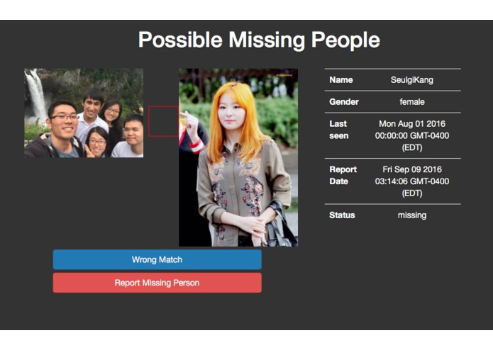 Find Missing People – screenshot 3