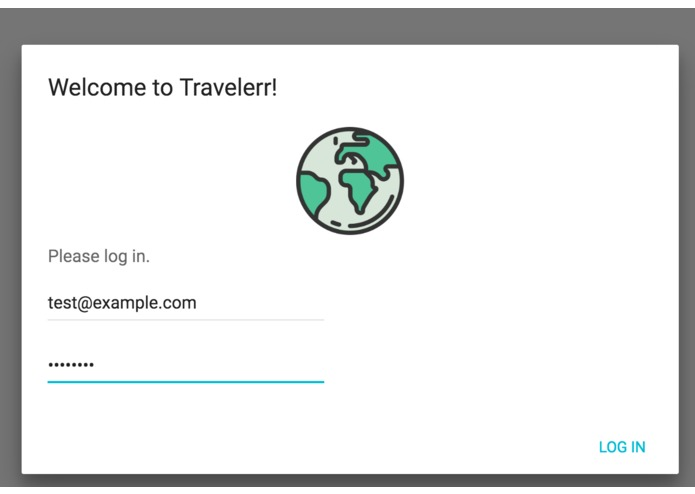 Travelerr.club  – screenshot 1