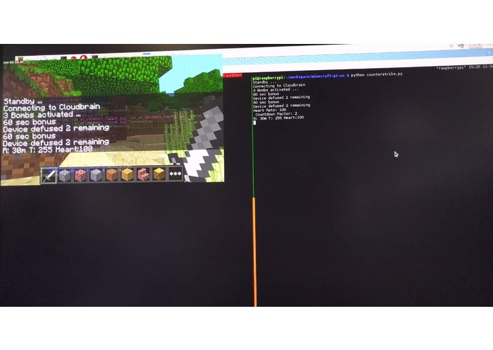 minecraft-pi-ws – screenshot 1