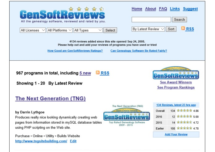 GenSoftReviews – screenshot 1
