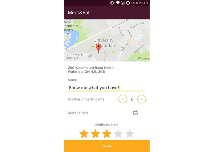MeetAndEat – screenshot 7
