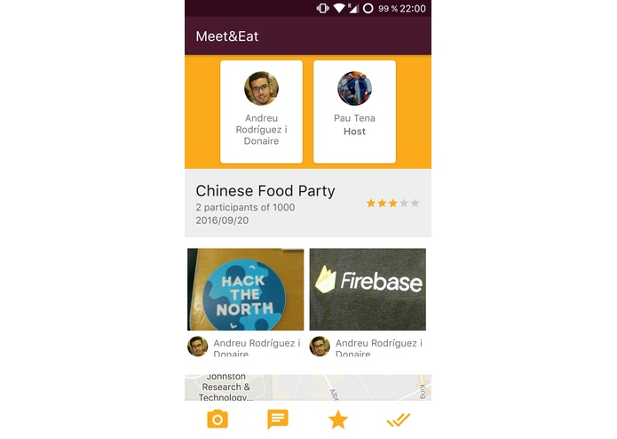 MeetAndEat – screenshot 2