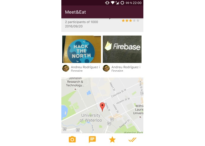 MeetAndEat – screenshot 3