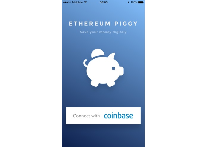 Ethereum Piggy – screenshot 1
