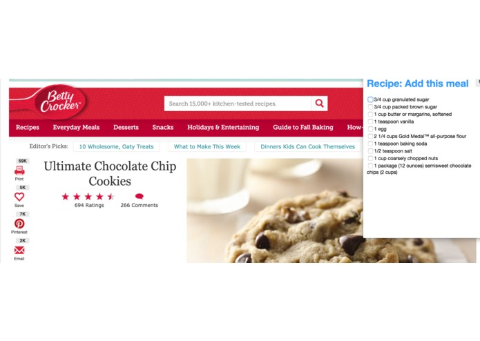 Recipe – screenshot 1
