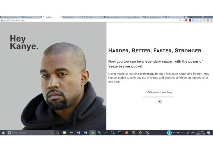 HeyKanye – screenshot 1