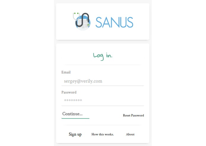Sanus – screenshot 1
