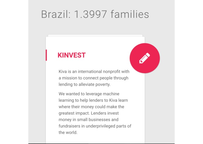 Kinvest – screenshot 3