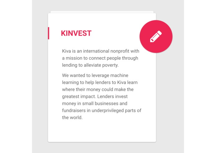 Kinvest – screenshot 1