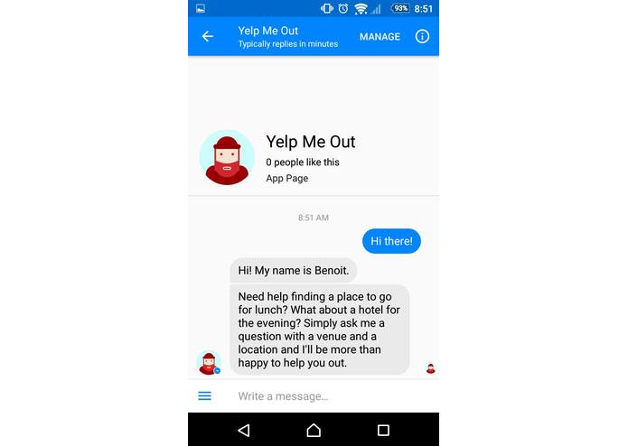 Yelp Me Out – screenshot 1