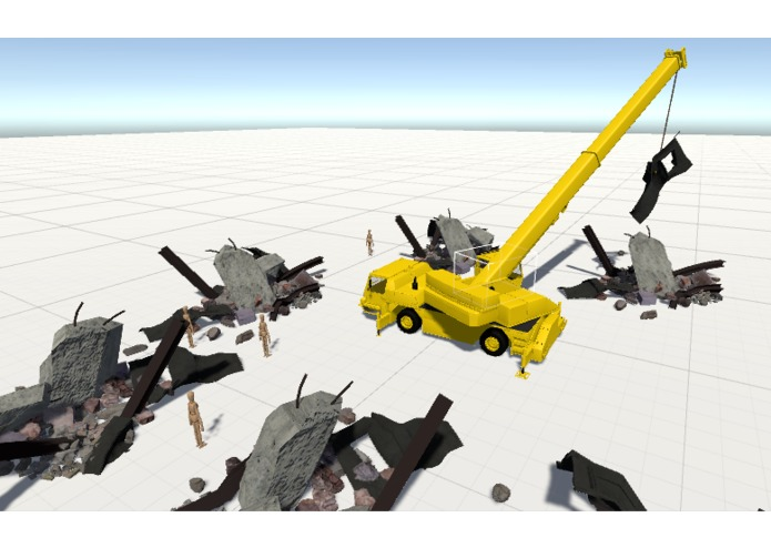 Disaster recovery training simulator – screenshot 1