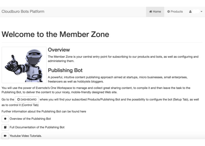 Publishing Bot – screenshot 1