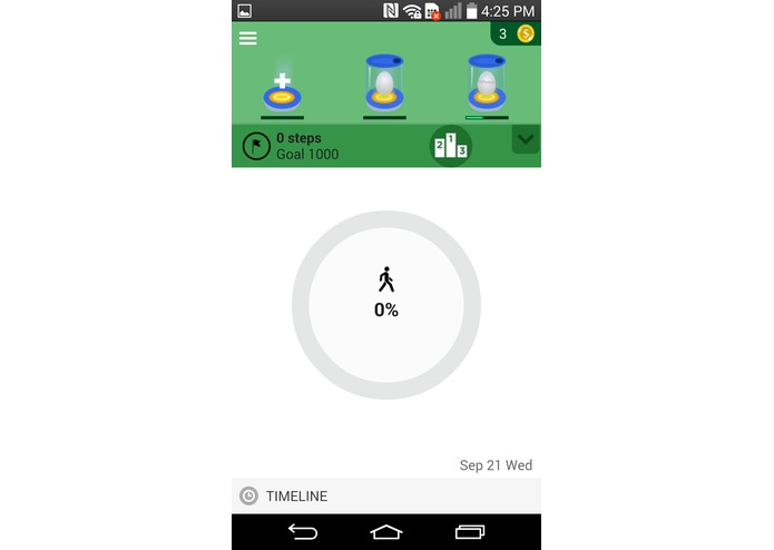 Pedometer fun! – screenshot 1