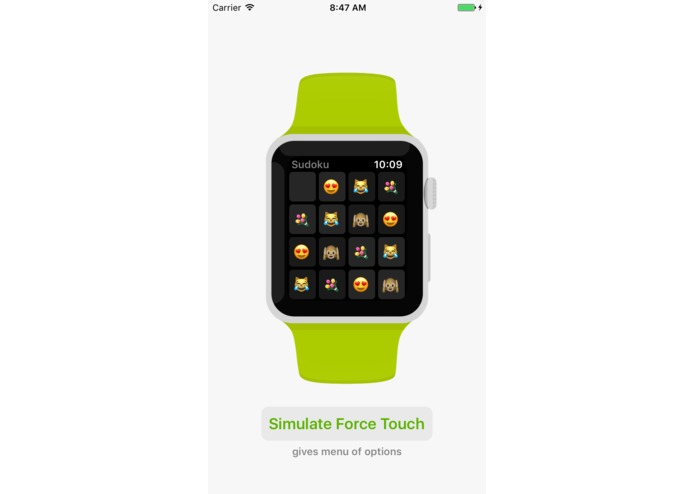 WatchKit for iOS (simulate Apple Watch apps on iPhone) – screenshot 3
