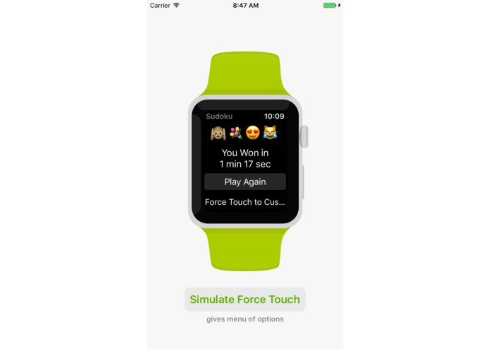 WatchKit for iOS (simulate Apple Watch apps on iPhone) – screenshot 4