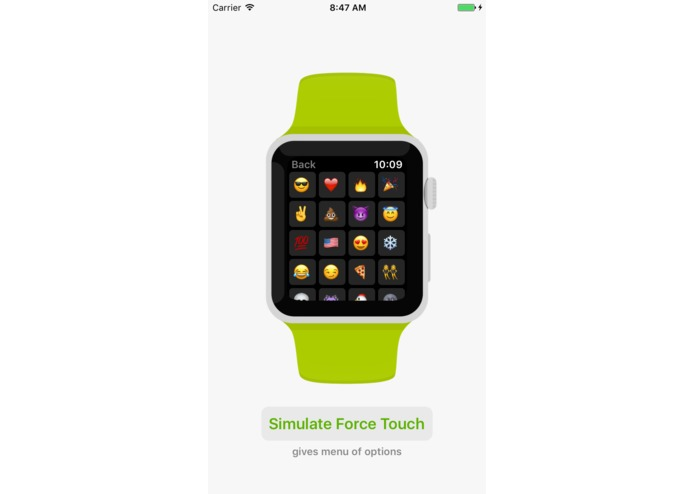 WatchKit for iOS (simulate Apple Watch apps on iPhone) – screenshot 5