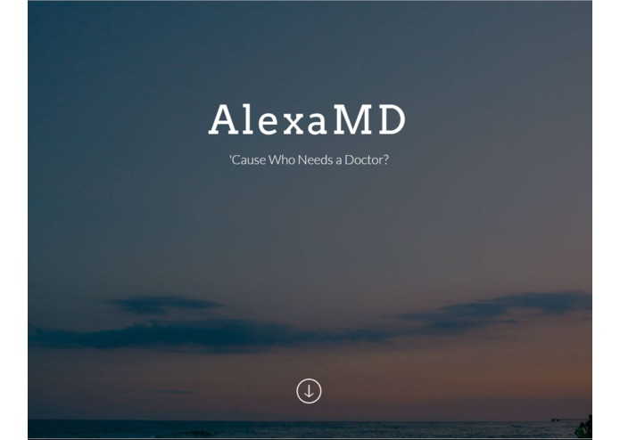 AlexaMD – screenshot 1