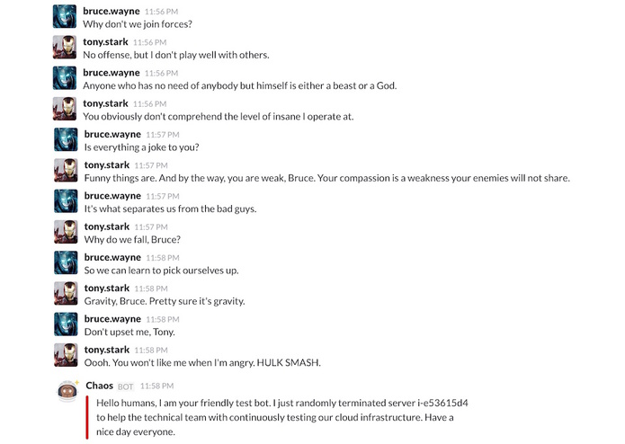 Chaos Slackbot – screenshot 2