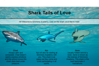 Shark Tails of Love