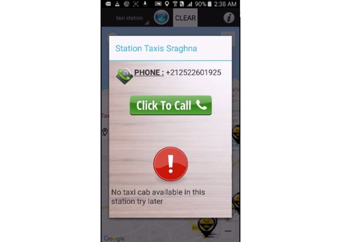 Moroccan Shared Taxi App – screenshot 13