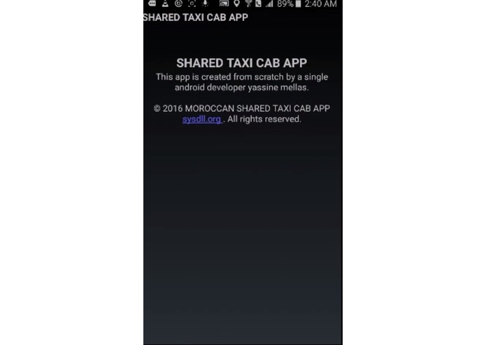 Moroccan Shared Taxi App – screenshot 19