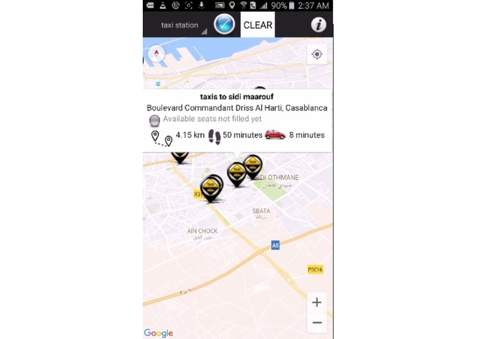 Moroccan Shared Taxi App – screenshot 11