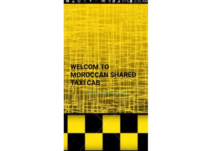 Moroccan Shared Taxi App – screenshot 1