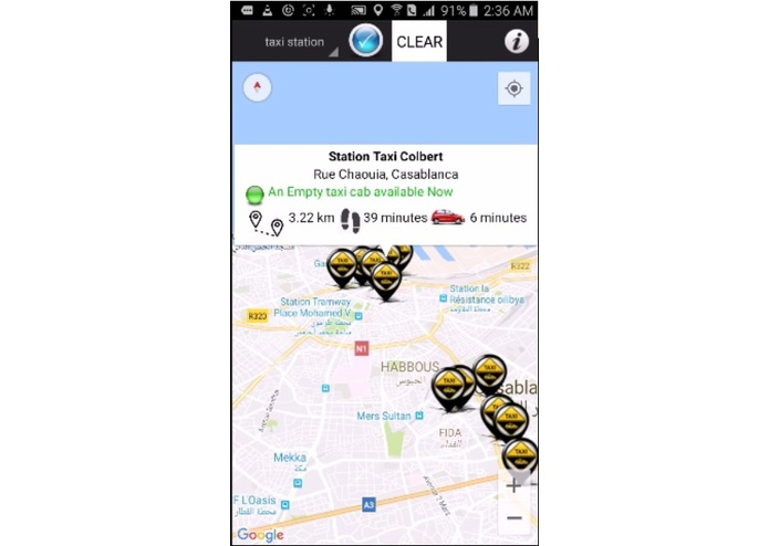 Moroccan Shared Taxi App – screenshot 3
